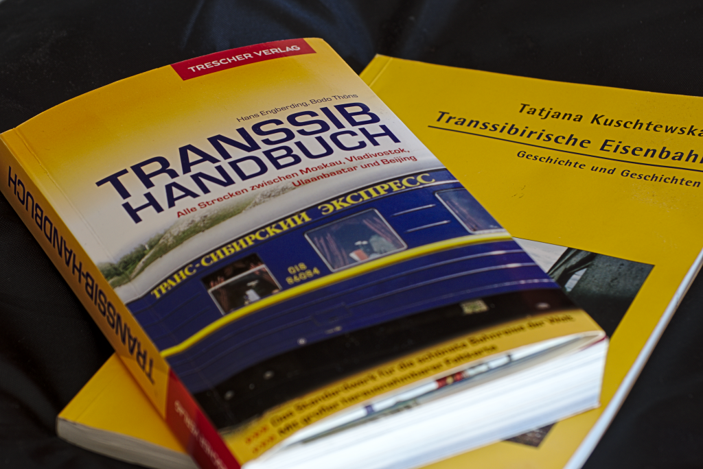 reiseführer der transsibirischen Eisenbahn
