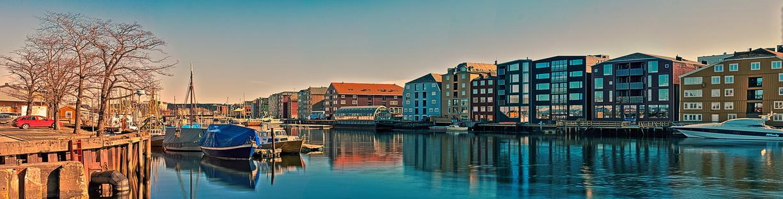 Trondheimer Innenstadt