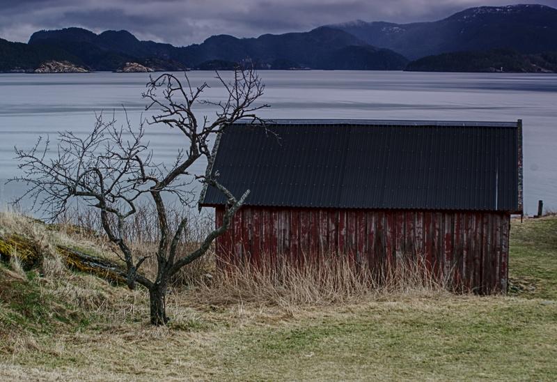 Kleine Haus am Fjord