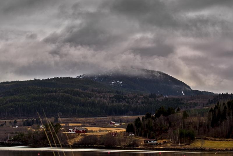 Forbordsfjell, Stjørdal, Norwegen Landschaftsbild