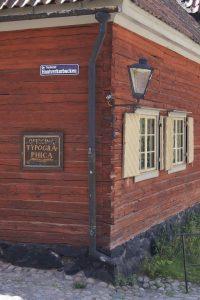 Skansen stockholm, alte Druckerei