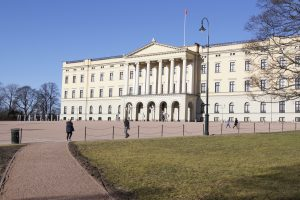 Oslo Schloss interrail routen