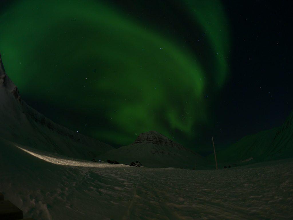 nordlicht longyearbyen spitzbergen