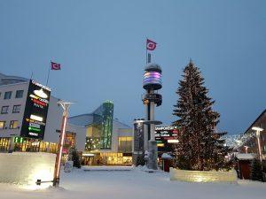 Rovaniemi_Stadtzentrum