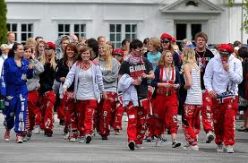 Norwegische schulsystem Russetiden, schulabgänger norwegen