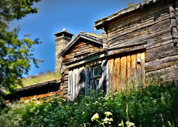 Freilichtmuseum Sverresborg Spaziergang durch Trondheim