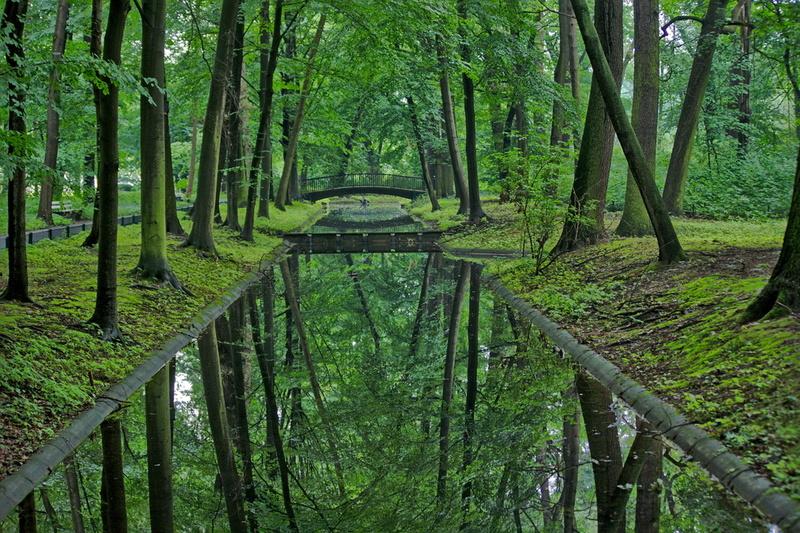 Spiegelungen im Berliner Tierpark