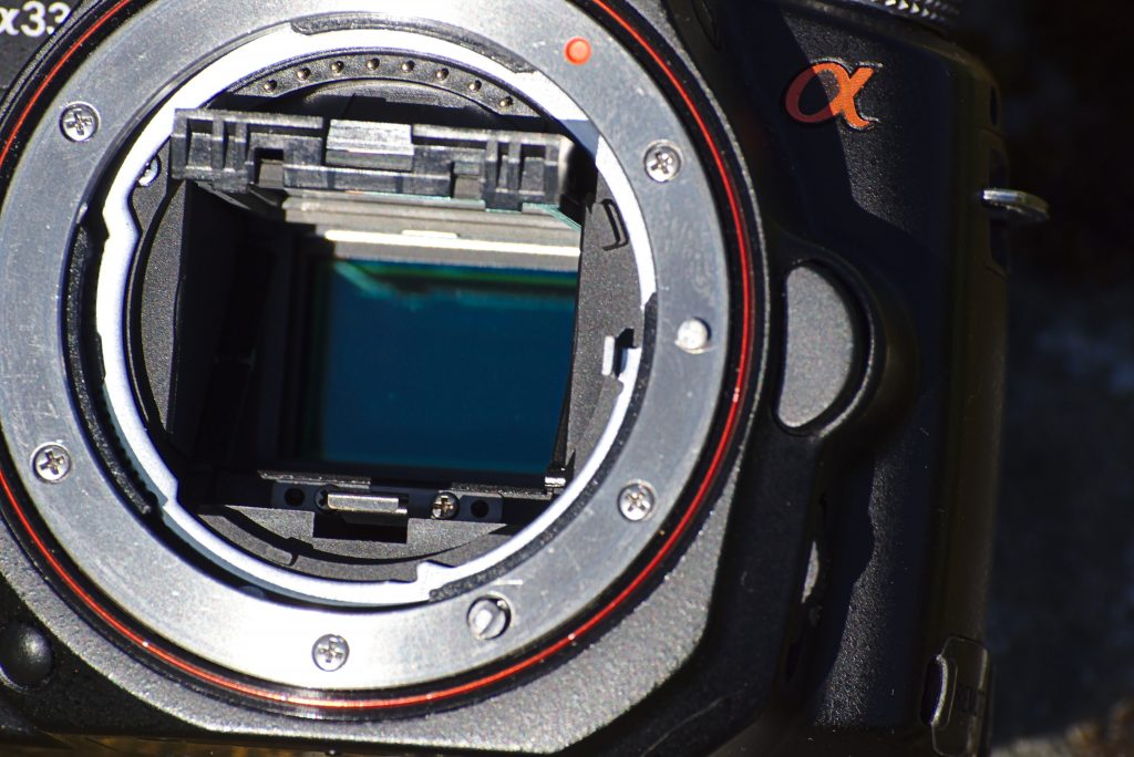 Blick ins Innere - Der Kamerasensor