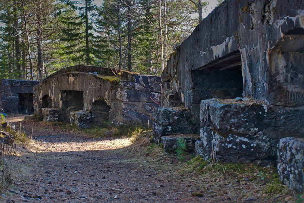 Mauern Festung Hegra Stjørdal