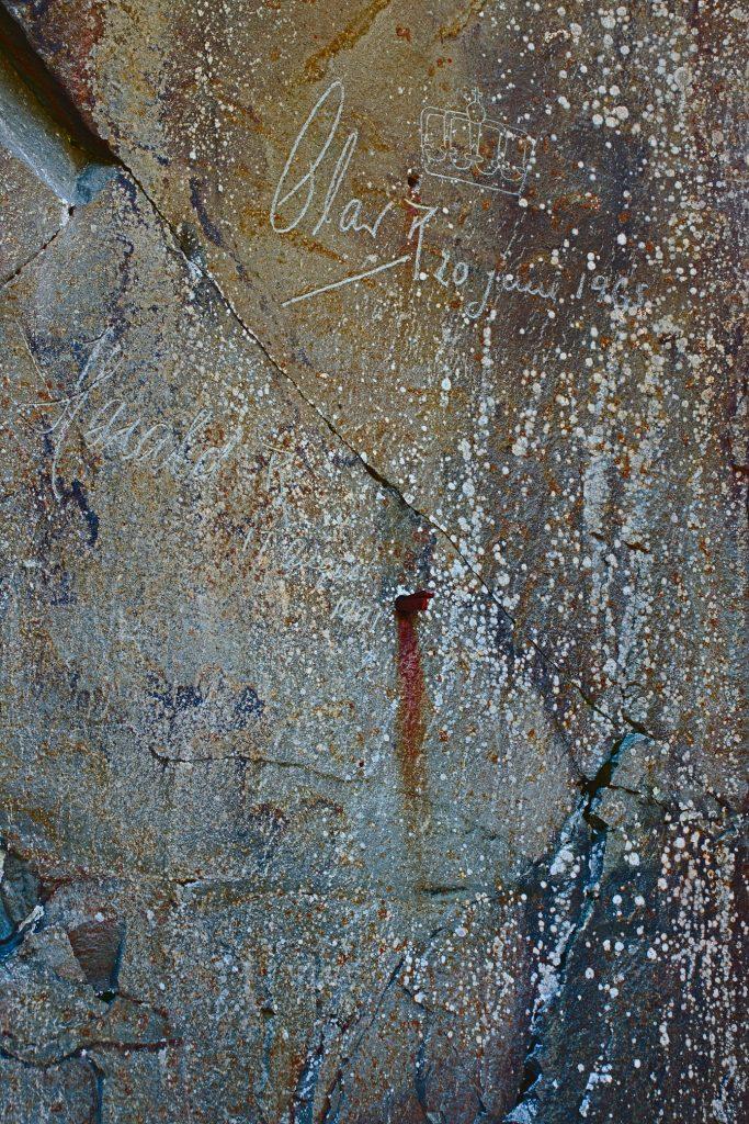Unterschriften der norwegischen Könige Festung hegra