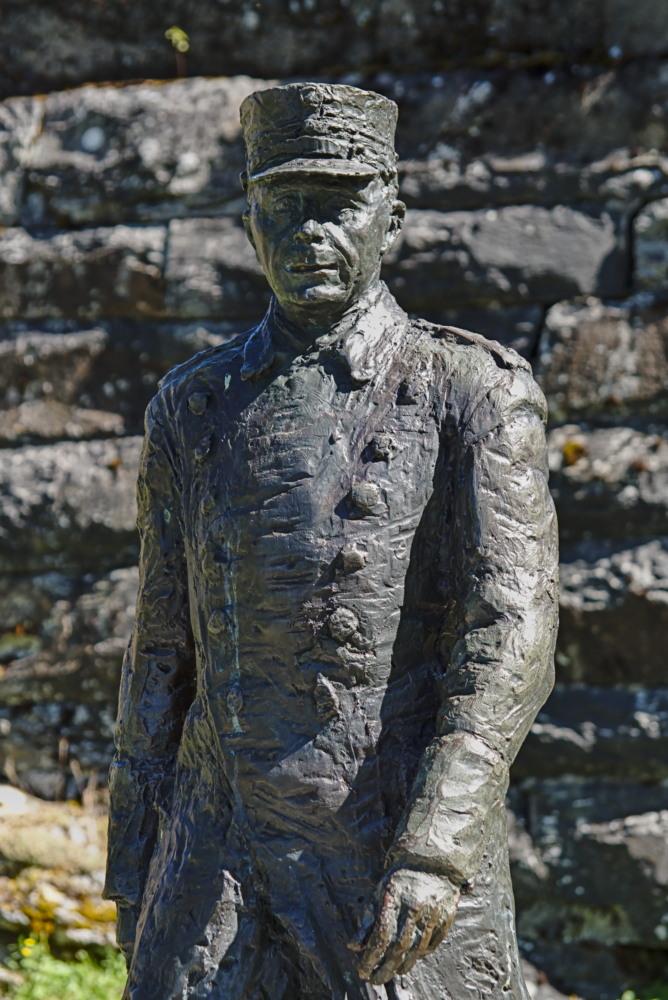 Major Holtermanns Festung Hegra Statur
