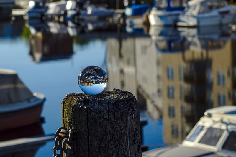 Bootshafen in Trondheim