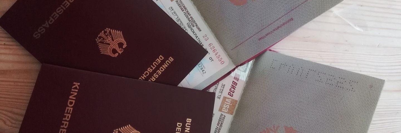 Reisepass visa packliste transibirische Eisenbahn
