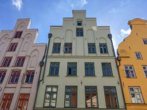 Fassade Haus in Lübeck