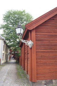 strasse im freilichtmuseum Gamla linköping