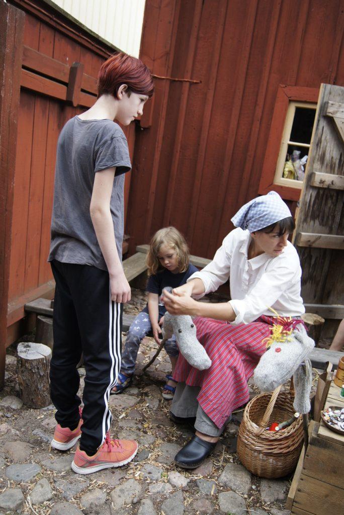 freilichtmuseum gamla linköping selberbauen eines steckenpferdes