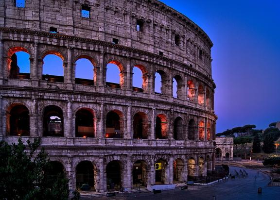 Bekannter Fotospots in Rom.