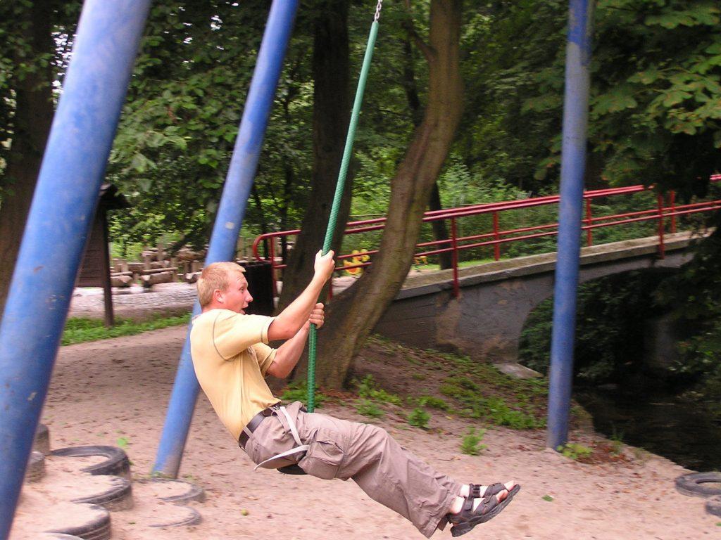 Spielplatz tierpark wismar