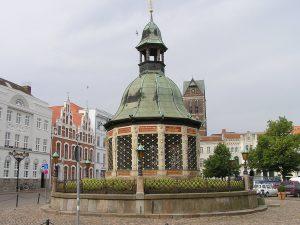 Wasserkunst Marktplatz Wismar
