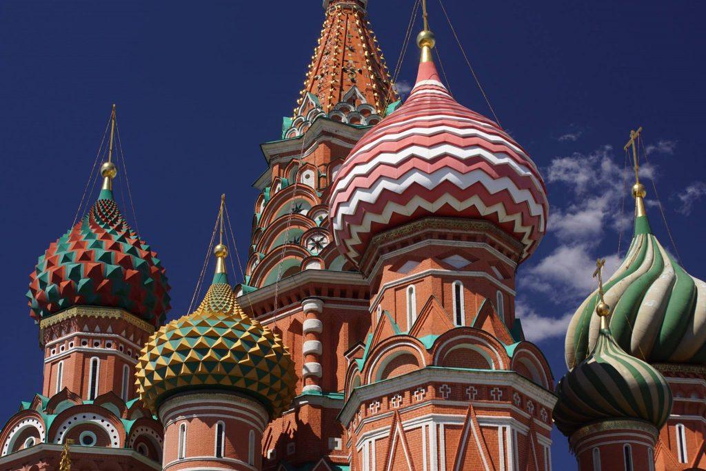 Moskau entdecken Zwiebeltürme basiliuskathedrale 4 wochen Transsibirische eisenbahn