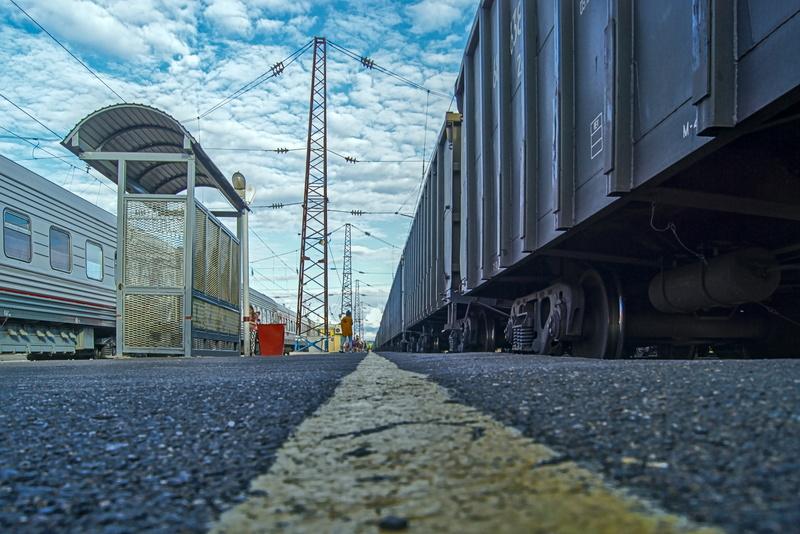 An irgendeinem Bahnhof auf der Transsib