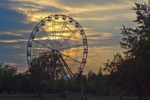 Das Riesenrad in Irkutsk