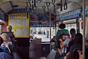 Blick in Bus Wladiwostock