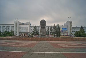 Der weltgrösste Leninkopf der Welt Ulan-Ude
