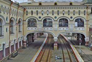 Bahnhof in Wladiwostock Sibirien
