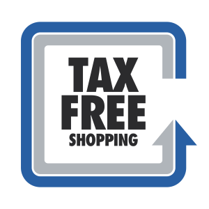 Taxfree Logo Norwegen von a-z