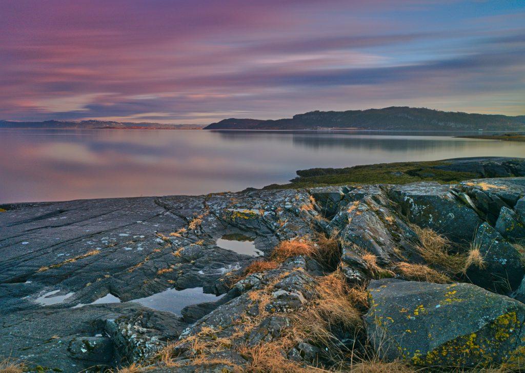 Norwegen von A bis z Landschaft am Strand Norwegen