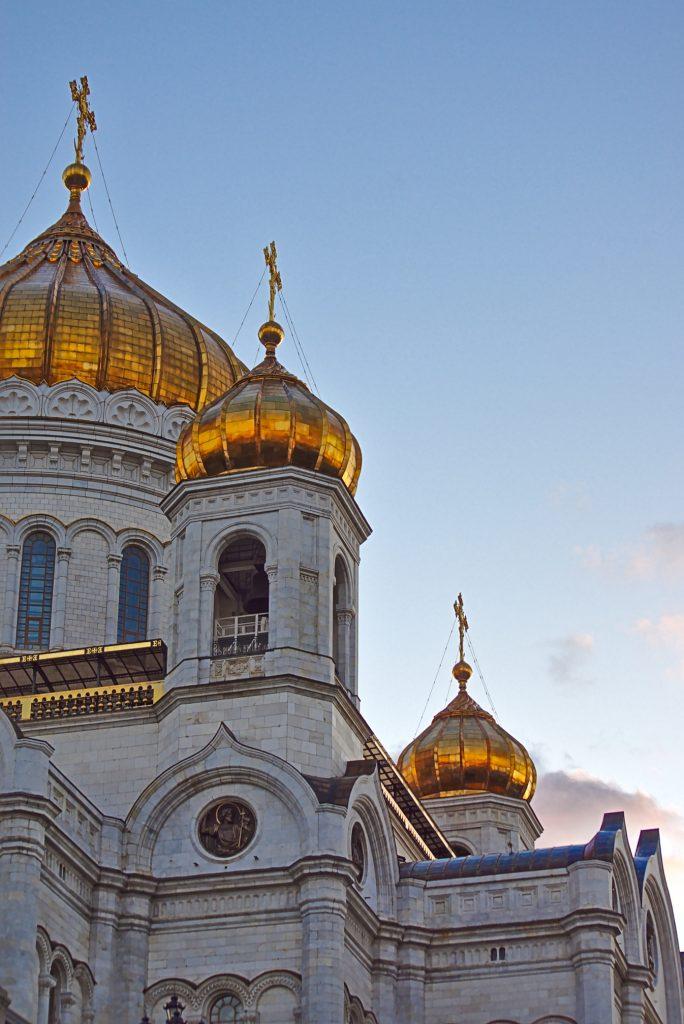 christus Erlöser Kathedrale transsib Moskau