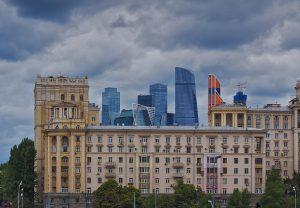 Moskau Skyline Moskau entdecken