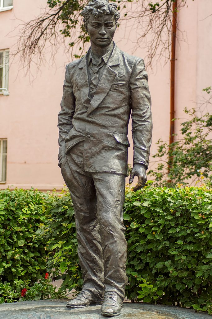 Schauspieler monument Irkutsk