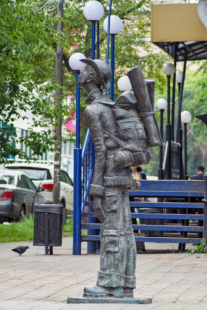 Tourist monument Irkutsk