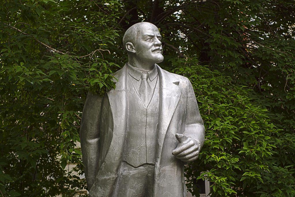 Lenindenkmal Russland irkutsk