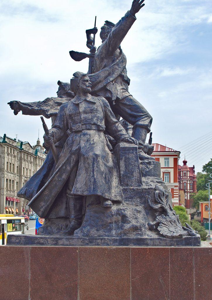 Soldatendenkmal Russland Wladiwostok