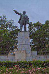 Lenindenkmale Russland Wladiwostok