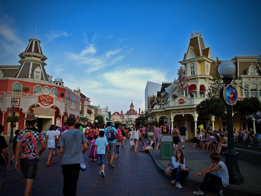 Mainstreet Disneyland Paris