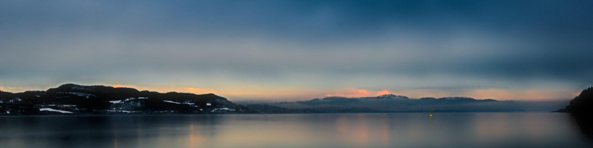 Norwegen Fjordaussicht zurück nach Deutschland Fettnäpfchen in Norwegen