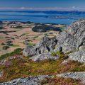 Stjørdal aussicht vom hausberg