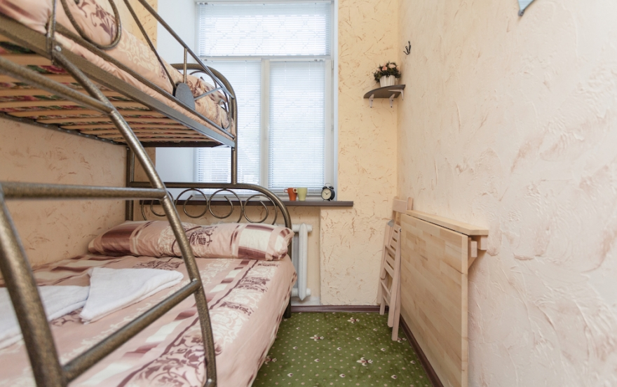 Winterfell Hostel Zimmer mit Doppelstockbett
