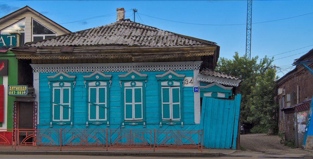 Holzhaus Irkutsk Sehenswürdigkeit