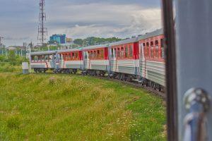 Parkeisenbahn Irkutsk