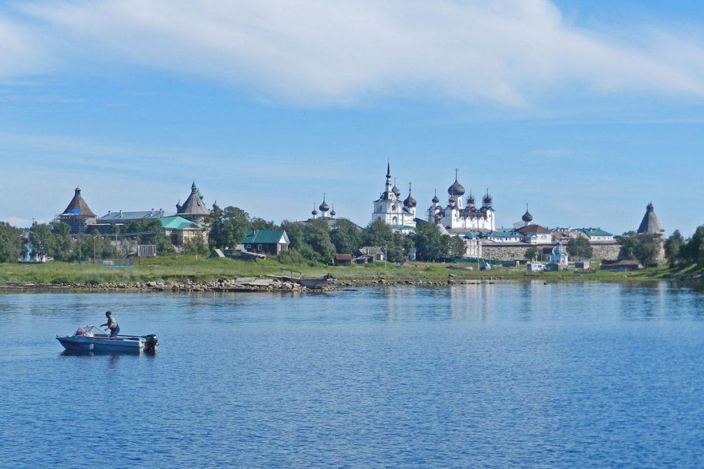 Meine lieblingsstadt im Norden Ansicht von Solowezki