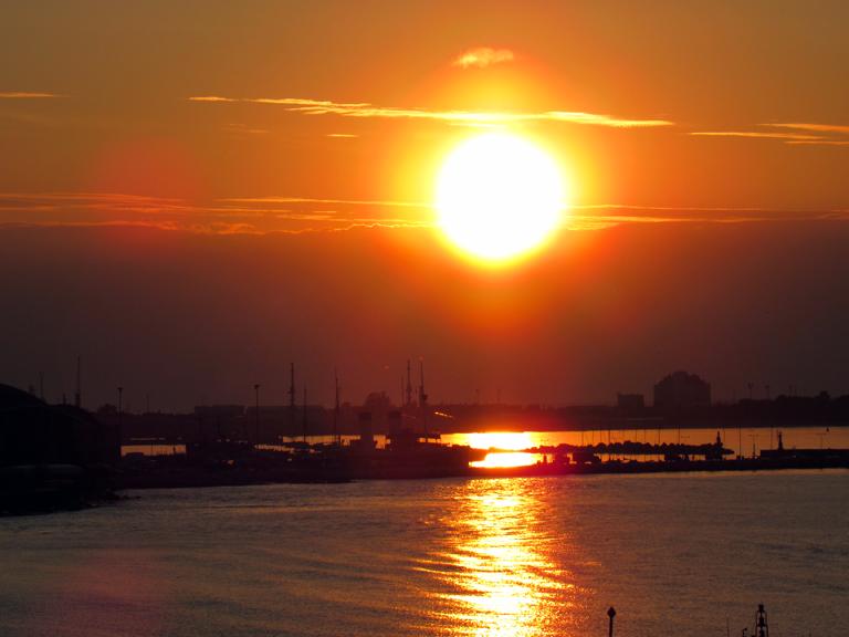Talinn Sonnenuntergang OStsee