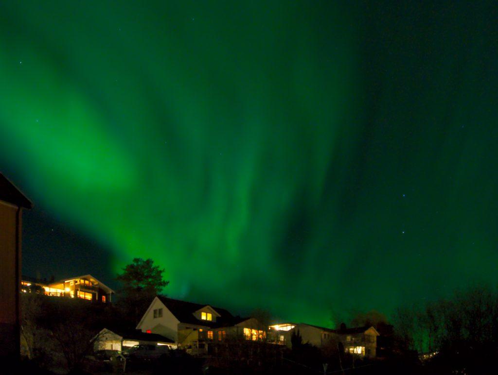 Polarlicht Norwegen Stjørdal Meine Lieblingsstadt im Norden