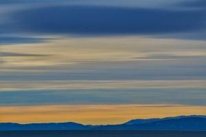 Blogparade aussergewöhnliche Übernachtungen Himmel Norwegen bunt