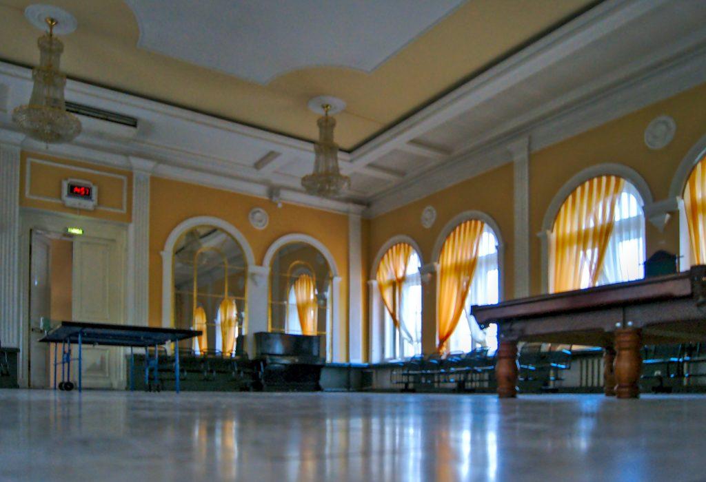Wartesaal Irkutsk schönster Bahnhof