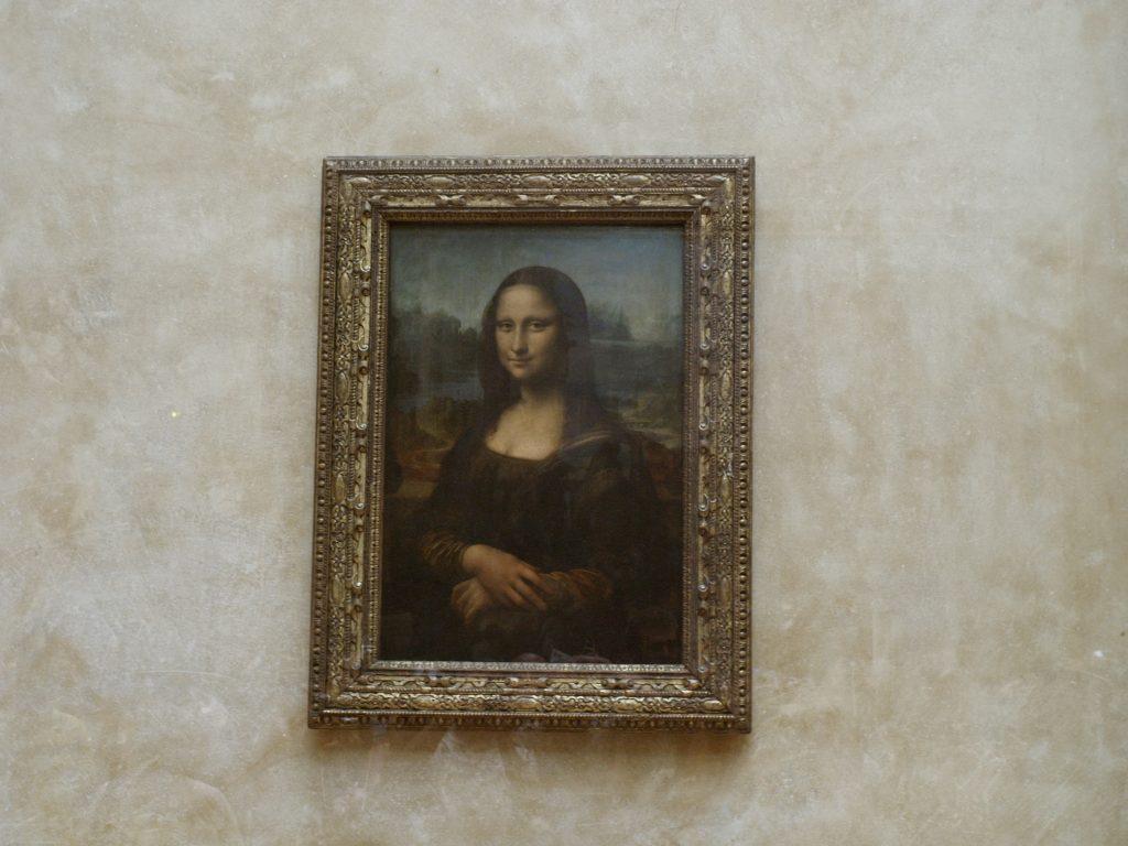 Mona Lisa. Fotografieren in Museen ist nicht immer einfach.
